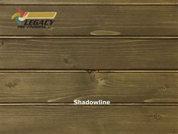 Prefinished Interior Spruce Tongue and Groove Edge/Center Bead - Shadowline