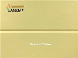 Spruce Prefinished Tongue and Groove V-Joint Boards - Classical Yellow
