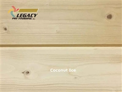Spruce Prefinished Tongue and Groove V-Joint Boards - Coconut Ice