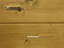 Spruce Prefinished Tongue and Groove V-Joint Boards - Driftwood
