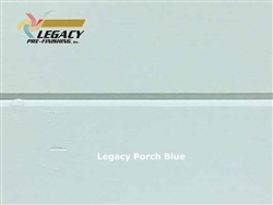 Spruce Prefinished Tongue and Groove V-Joint Boards - Legacy Porch Blue