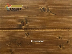Spruce Prefinished Tongue and Groove V-Joint Boards - Provincial