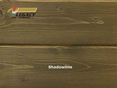 Spruce Prefinished Tongue and Groove V-Joint Boards - Shadowline