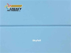 Spruce Prefinished Tongue and Groove V-Joint Boards - Sky Fall