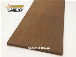 Shingles, Western Red Cedar, 18 Inch R&R - Chestnut Brown