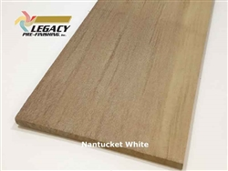 Shingles, Western Red Cedar, 18 Inch R&R - Nantucket White