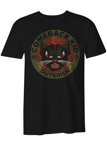 Comeback Kid - Outsider Cat Tshirt