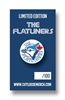 The Flatliners - Limited Edition Jays - Enamel Pin - OUT STOCK