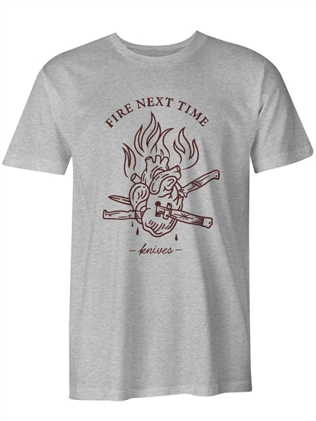 Fire Next Time - KNIVES T-Shirt
