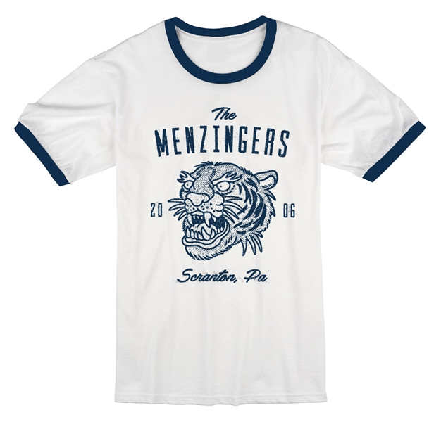 The Menzingers Tiger Ringer Tee