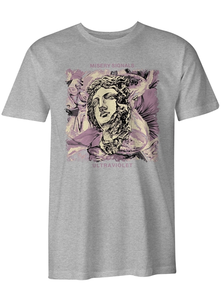Misery Signals - Ultraviolet Grey Tee - Pre Order