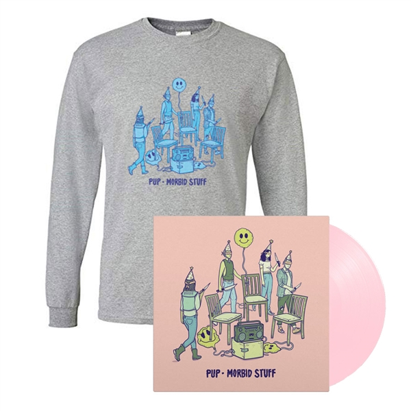 PUP - Morbid Stuff LP + Long Sleeve Shirt Bundle - OUT NOW!