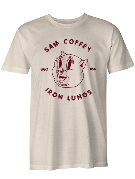 Sam Coffey & The Iron Lungs - Porky Tshirt