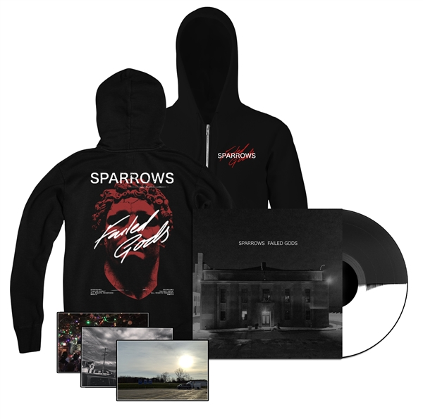 "Sparrow ""FAILED GODS"" LP, ZIPUP & PHOTO Bundle"