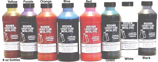 8 Ounce Layout Fluid Single Bottle
