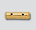 14K Gold Filled Tube Spacer Bar - 3mm, 2Hole