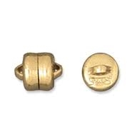 14K Gold Filled Magnetic Snap Button Clasp - 6mm