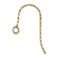 14K Gold Filled Sparkle French Earwire