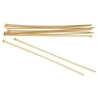 14K Gold Filled Headpins - 22 gauge, 2 inch