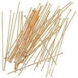 14K Gold Filled Headpins - 24 gauge, 2 inch
