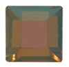 4mm Flatback Square Crystal Copper