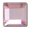 4mm Flatback Square HOTFIX Light Rose
