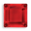 4mm Flatback Square Light Siam