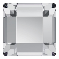 Swarovski 6mm Square Flatback - Crystal