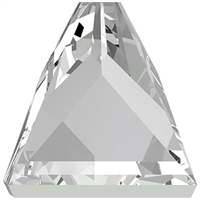 Swarovski #2419 Square Spike Flat Back - 5mm - Crystal