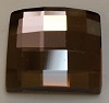 12mm Flatback Square Chessboard Light Rose Satin
