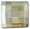 8mm Flatback Square Chessboard Golden Shadow