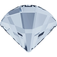 Swarovski #2714 6mm Fan Flat Back - Blue Shade