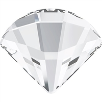 Swarovski #2714 6mm Fan Flat Back - Crystal