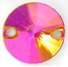 Swarovski 10mm Sew On Rivoli Astral Pink