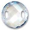 Swarovski 18mm Twisted Sew On Crystal Moonlight