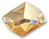 Swarovski 26 x 21mm Cosmic Sew On Golden Shadow