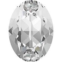 #4120 Swarovski Oval Fancy Stone- 18 X 13mm - Crystal