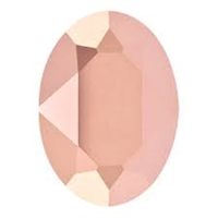 #4120 Swarovski Oval Fancy Stone- 18 X 13mm - Rose Gold