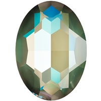#4127 Swarovski Big Oval Fancy Stone- 30 X 22mm - Army Green DeLite
