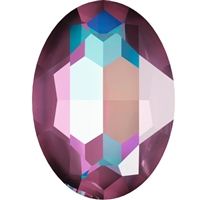 #4127 Swarovski Big Oval Fancy Stone- 30 X 22mm - Burgundy DeLite