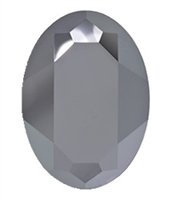 #4127 Swarovski Big Oval Fancy Stone- 30 X 22mm - Hematite