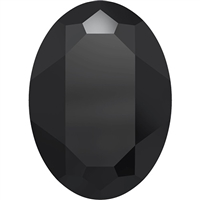 #4127 Swarovski Big Oval Fancy Stone- 30 X 22mm - Jet