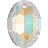 #4127 Swarovski Big Oval Fancy Stone- 30 X 22mm - Lt Grey DeLite
