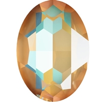 #4127 Swarovski Big Oval Fancy Stone- 30 X 22mm - Ochre DeLite