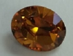 10 x 8mm Pointed Back Oval- TOPAZ