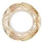 20mm Round Cosmic Ring Golden Shadow