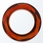 20mm Round Cosmic Ring Red Magma