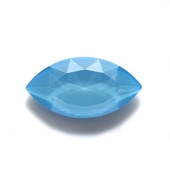 #4227 Swarovski Wide Navette Fancy Stone - 32 X 17mm - LaquerPro Summer Blue