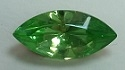15 x 7mm Pointed Back Navette- Peridot