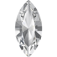 Swarovski #4228, 6 x 3mm Pointed Back Navette-Crystal